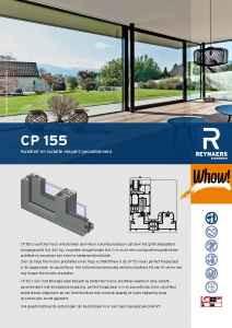 Schuifdeur CP155 aluminium