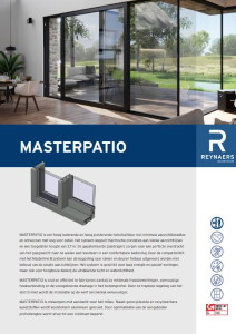 Master Patio reynaers geral