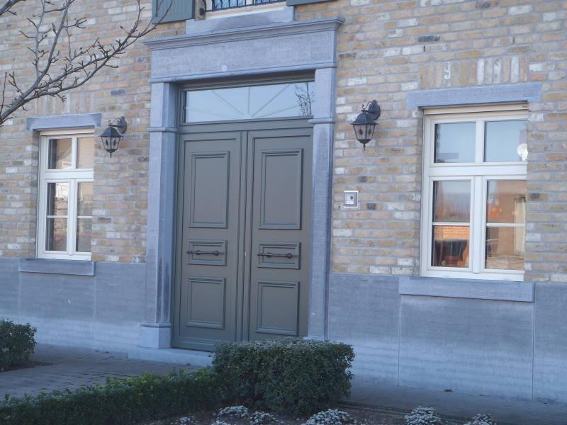 kunststof voordeur
